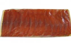 Филе семги, холодное копчение, нарезка